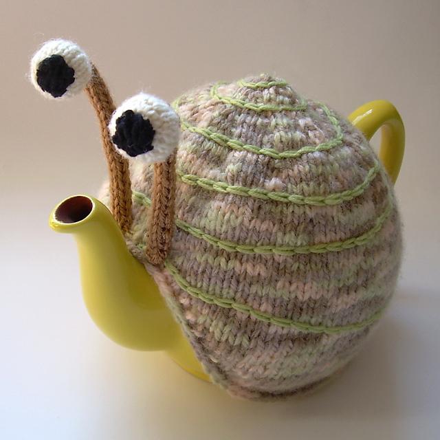 Snail Tea Cosy Pattern