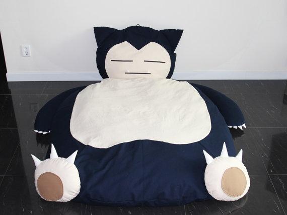 Handmade Snorlax Bed