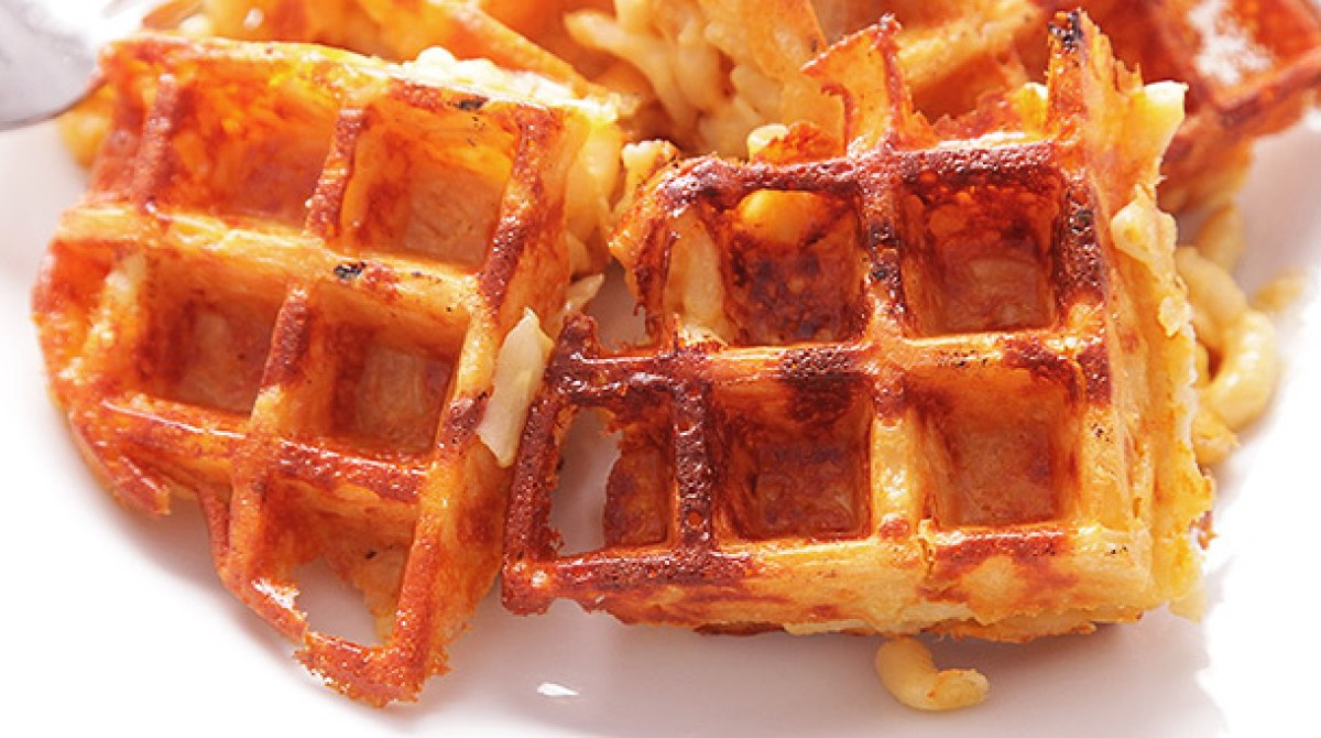How-To: Macaroni and Cheese Waffles