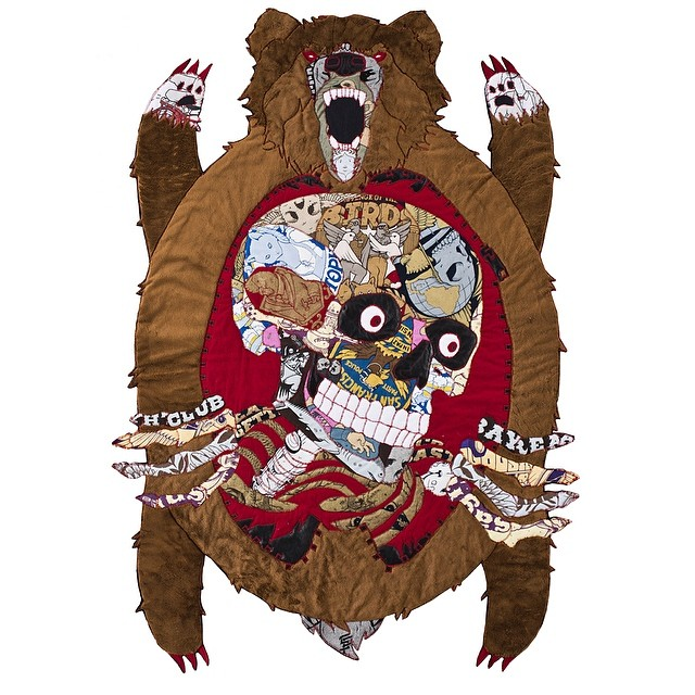 """Quilted Bear """"Hunting Trophies"""""""