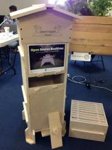 This beehive was created with the plans at opensourcebeehives.net