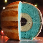 You can make your own concentric sphere planet layer cake with instructions by Cakecrumbs.