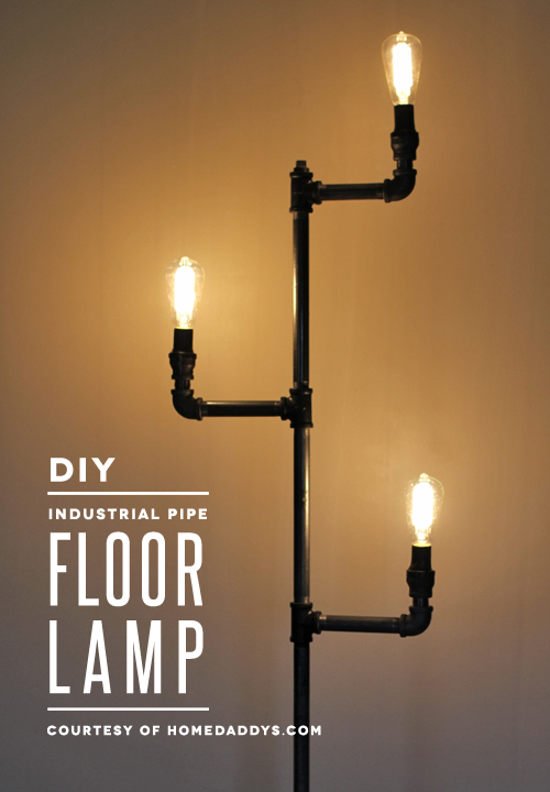 How-To: Industrial Pipe Floor Lamp