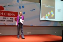 Lyn Jeffrey from Institute from the Future spoke about the maker movement in China.