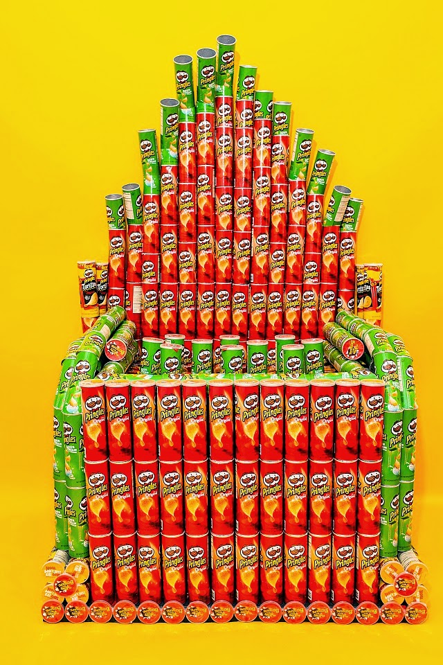 Pipe Organ From Pringles Cans