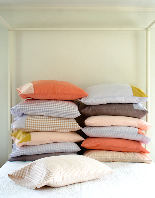 How-To: Colorful Custom Pillowcases