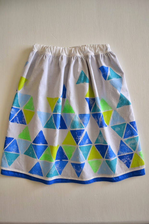 How-To: Geometric Two-Layer Skirt