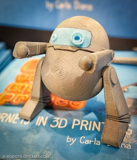 Knowing from her own experience that physical engagement and action is critical to effective learning, she designed the book incorporating characters that readers (of all ages) can download and 3D print, and even use to act out the story line.