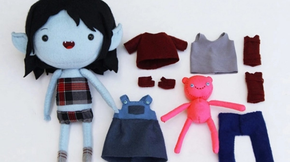 Adventure Time Plush Dress Up Dolls