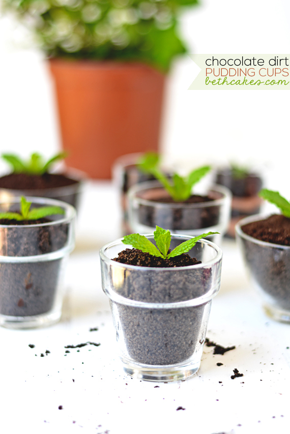 How-To: Chocolate Dirt Pudding Cups