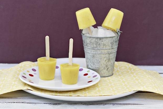 Pineapple Banana Pops
