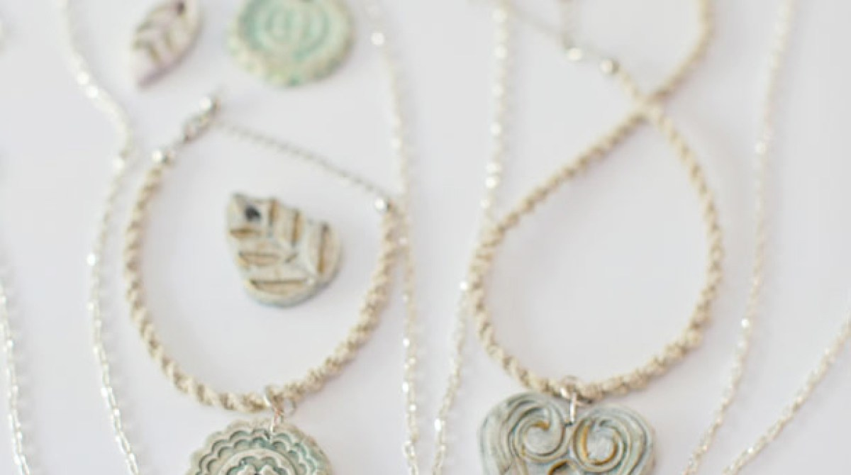 How-To: Polymer Clay Pendant Necklaces