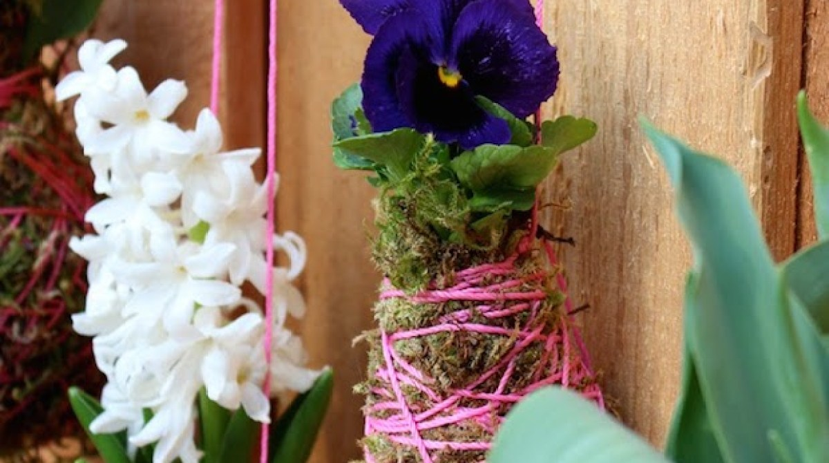 How-To: Spring String Garden