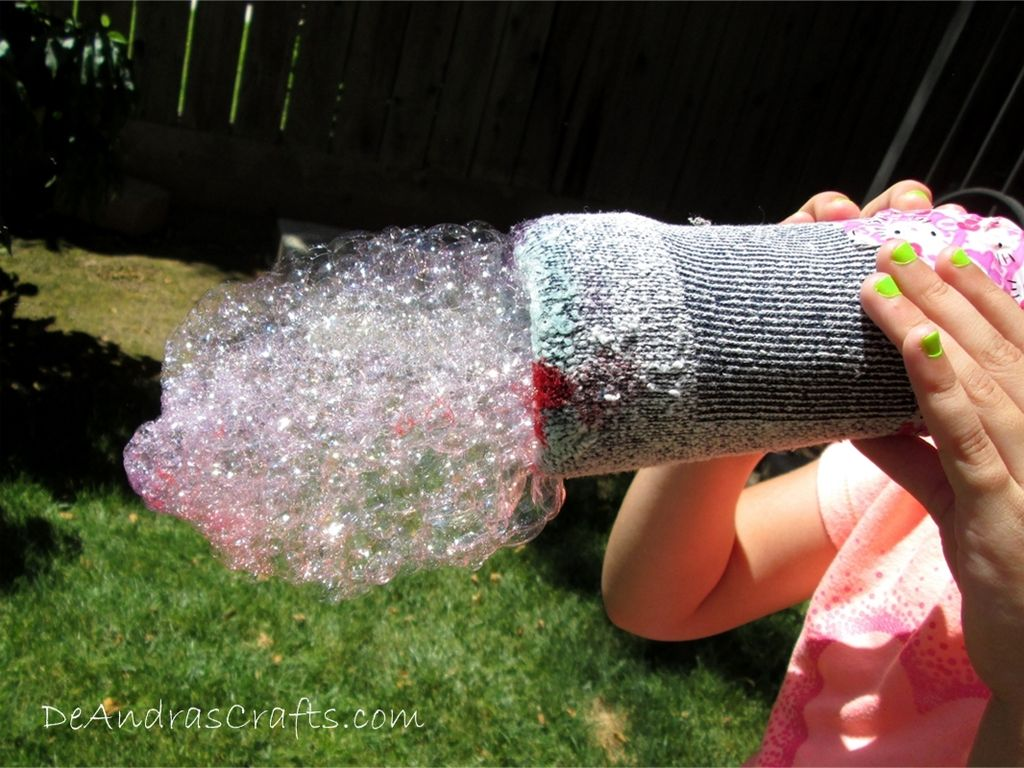How-To: Rainbow Bubble Cloud Makers