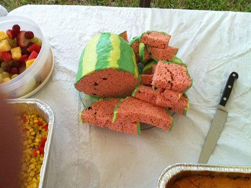 How-To: Rice Crispy Treat Watermelon