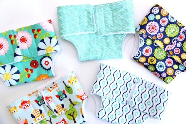 How-To: Fabric Doll Diapers