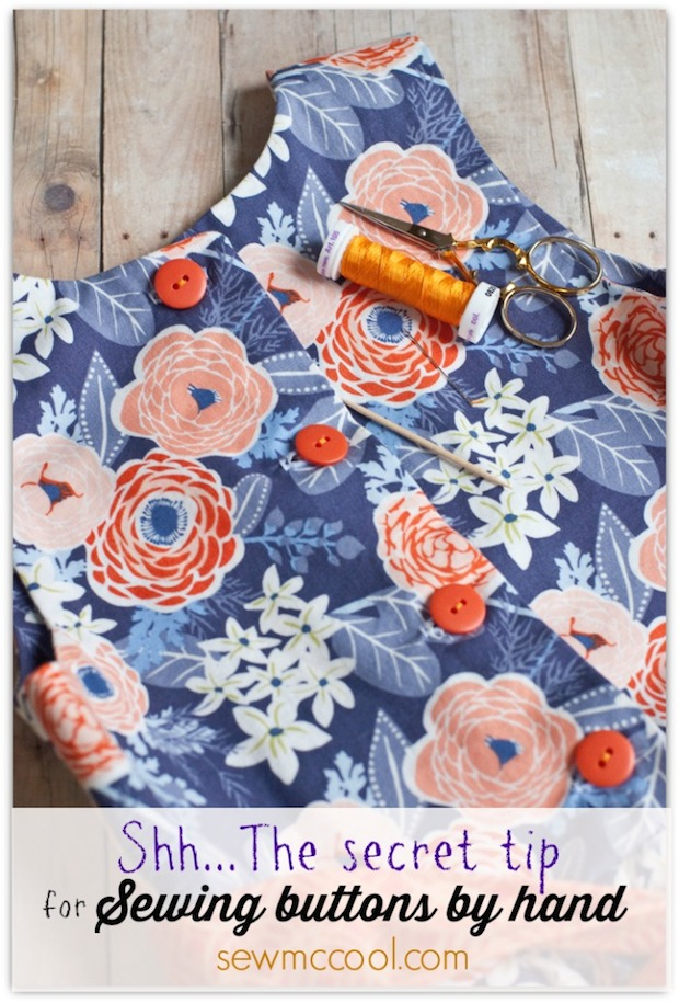 Sewing Tip: How to Sew a Button by Hand