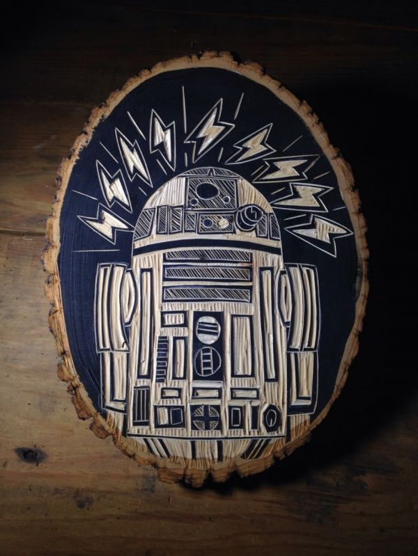 Star Wars Woodcuts