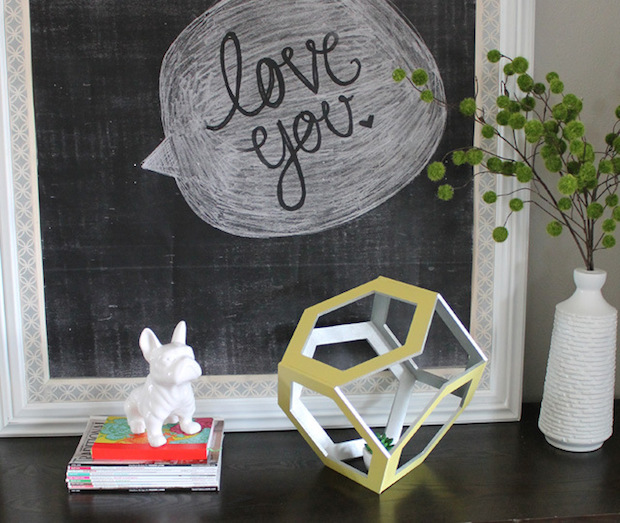How-To: 3D Hexagon Decor