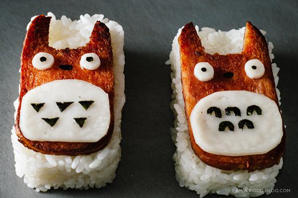 Totoro Spam Musubi Recipe