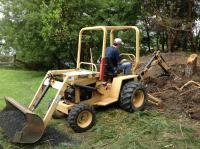 04 - Digging - need a bigger digger next time