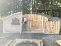 07 - Walls going in