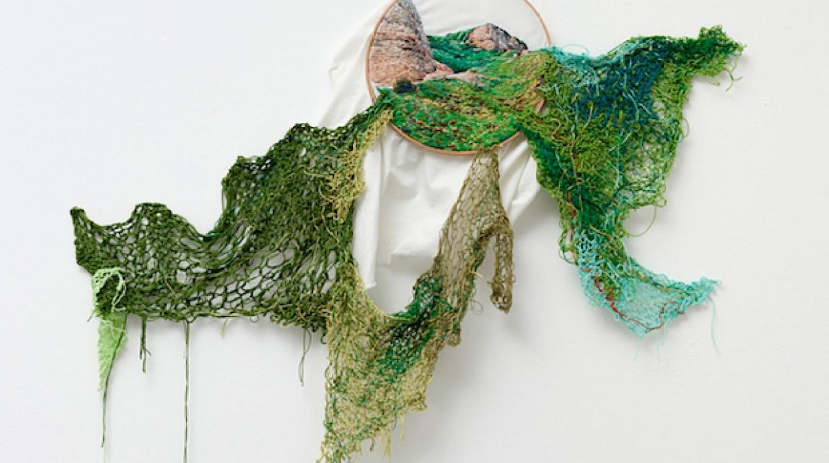 Suspensión: Embroidered Art from Fiber Artist Ana Teresa Barboza