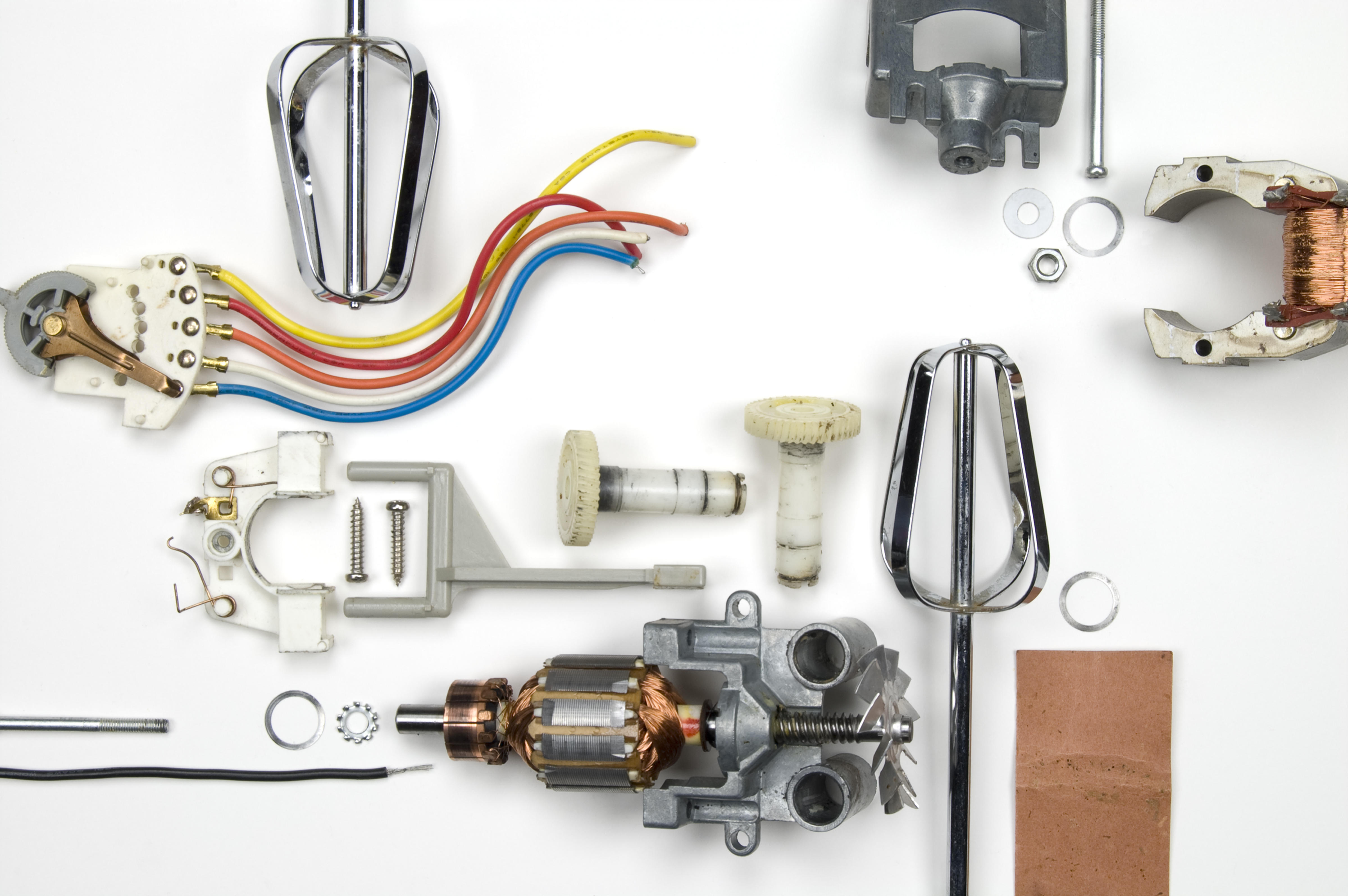 The Beauty of Disassembled Appliances