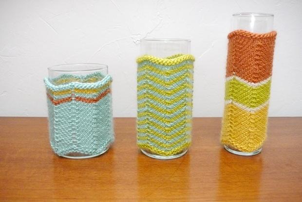 Flashback: Missoni-Style Vase Cozies