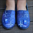 How-To: Doctor Who-Inspired Galaxy Shoes