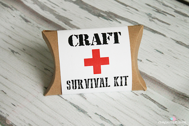 Craft Survival Kit Printable