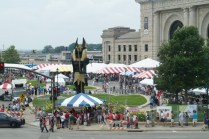 The Faire from afar