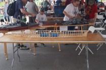 Radio controlled boat frame