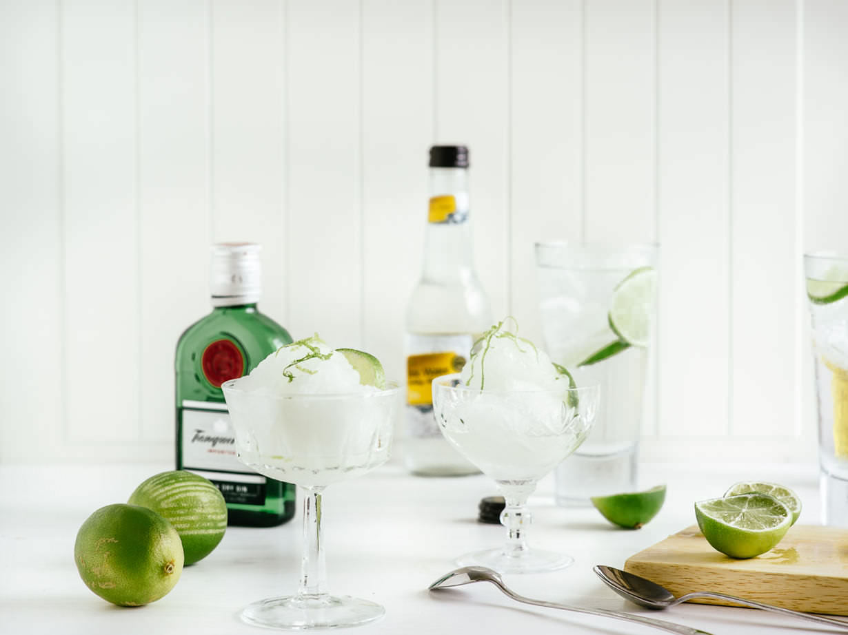How-To: Gin and Tonic Sorbet