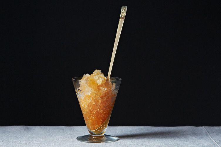 Recipe: Iced Tea Granita