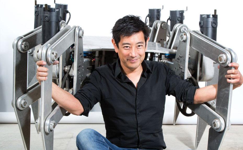 Grant Imahara Talks About His Robots Make
