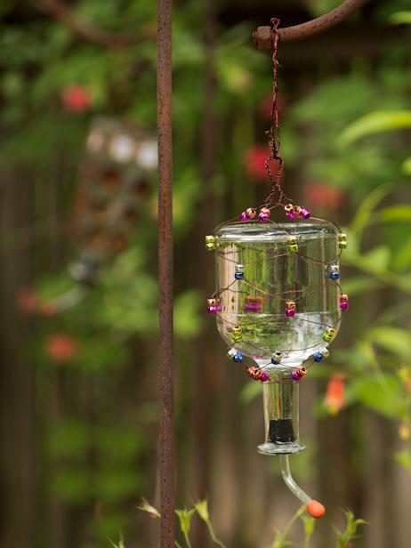 How-To: Tequila Bottle Hummingbird Feeder
