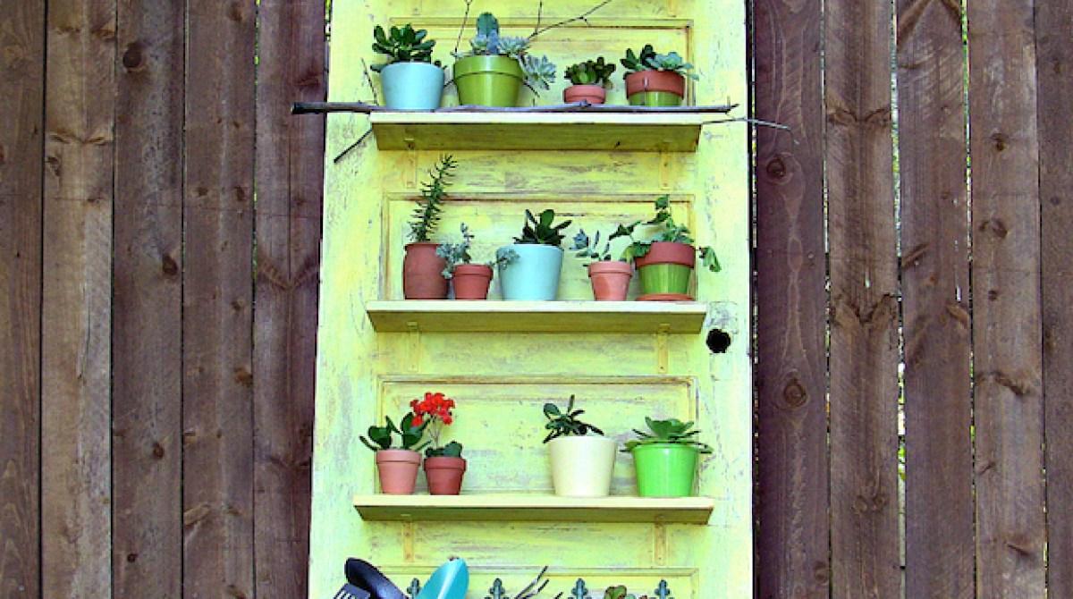 How-To: Vintage Door Shelf