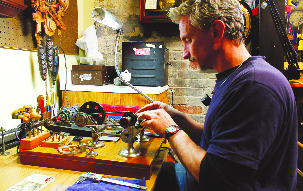 From Cubicle to Clock Repair