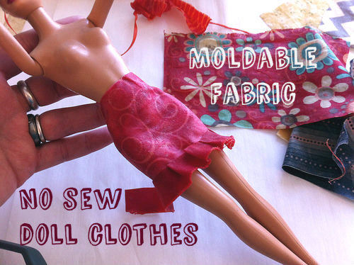 How-To: No Sew Doll Clothes