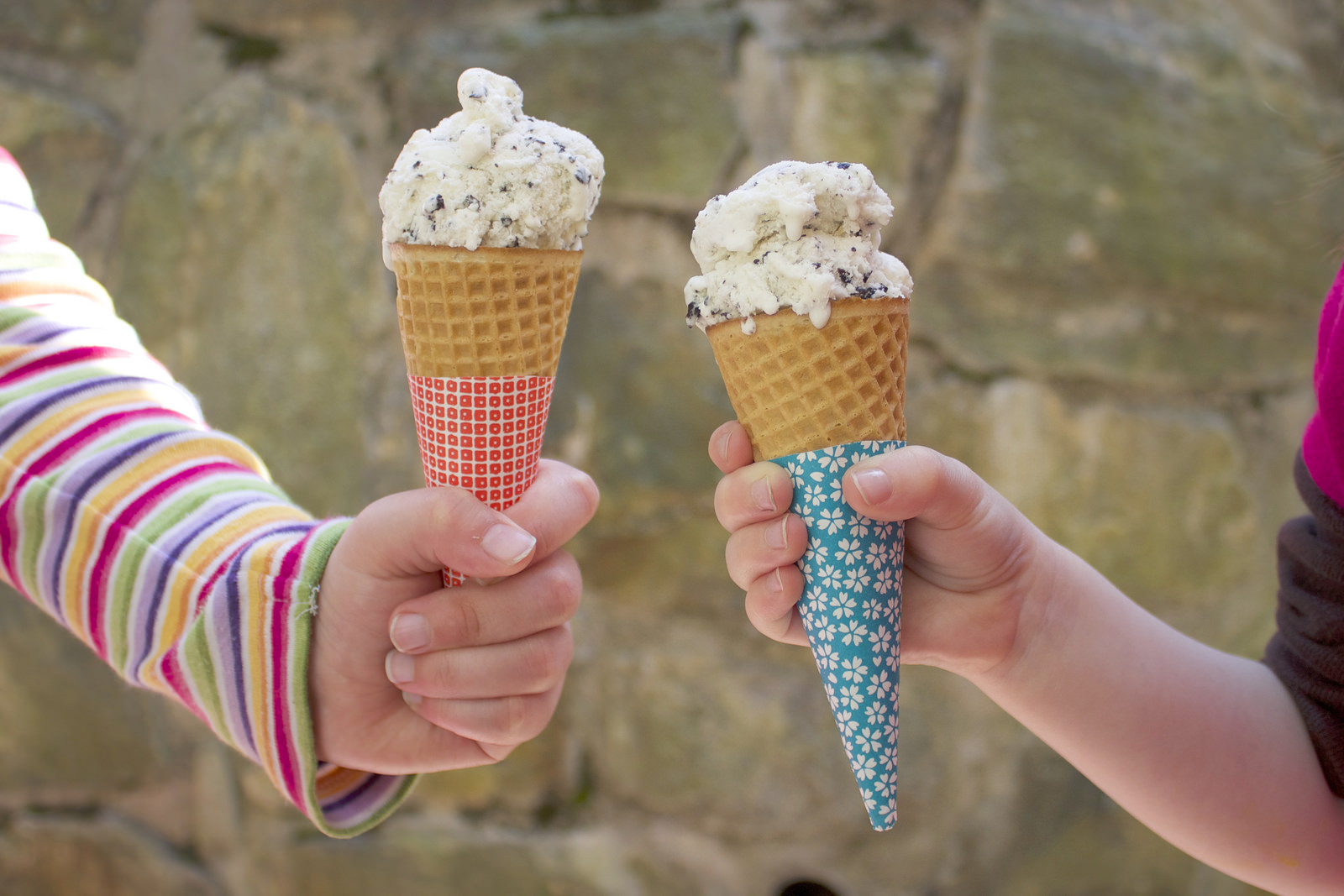 How-To: Origami Ice Cream Cone Sleeves