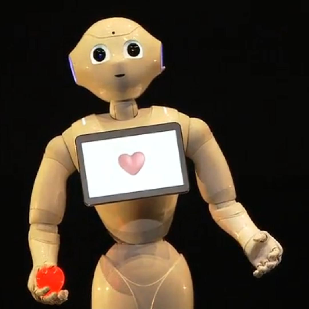 Pepper: Feeling Like a Robot