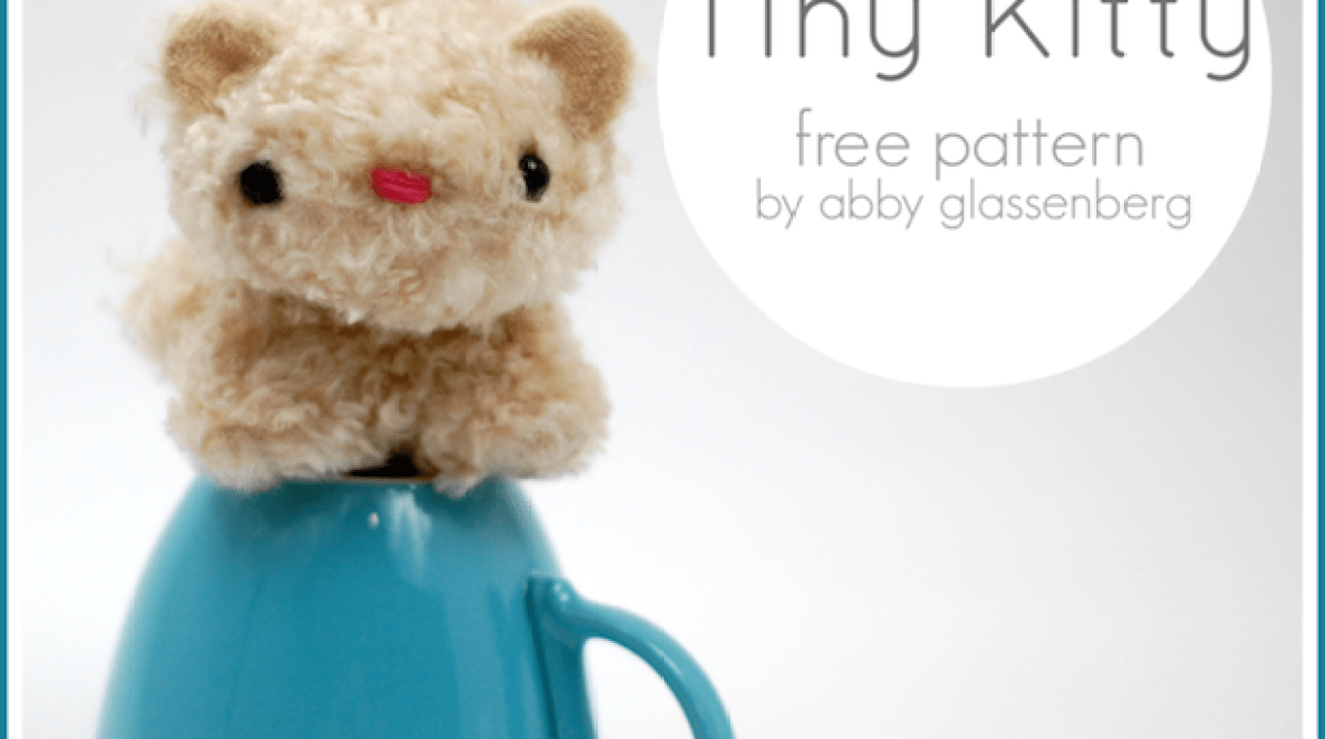 How-To: Tiny Kitty Plush