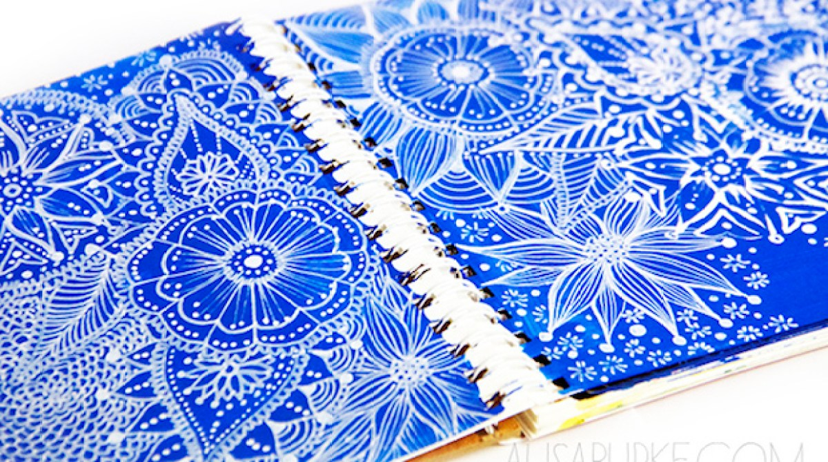 Sketch Inspiration: Working with White Pens