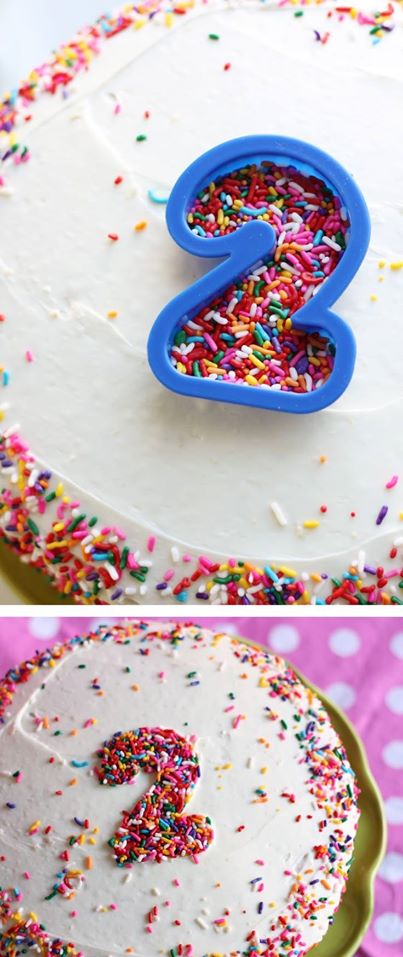 How-To: Write On A Cake With Sprinkles