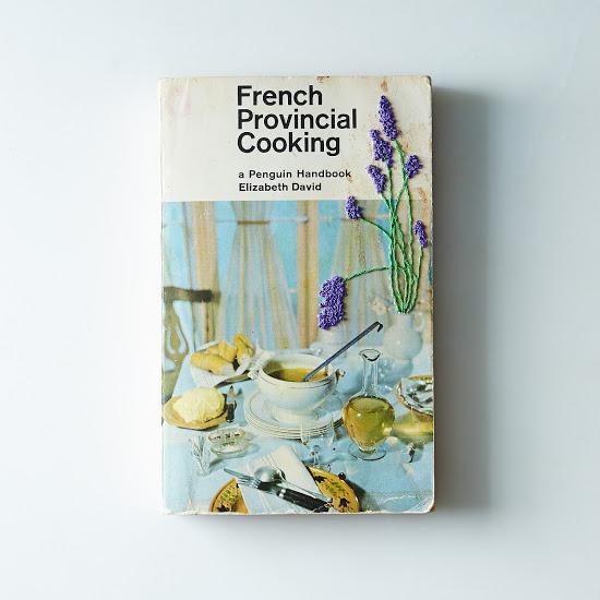 Hand Embroidered Vintage Cookbooks
