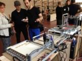 Mecaduino.com demoing their robot / CNC chassis buillding platform