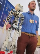 Poppy Project, and open source robot, by Matthieu Lapeyre and Pierre-Yves Oudeyer