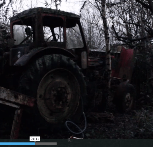 """The Sound of an Old Tire's """"Last Breath"""""""