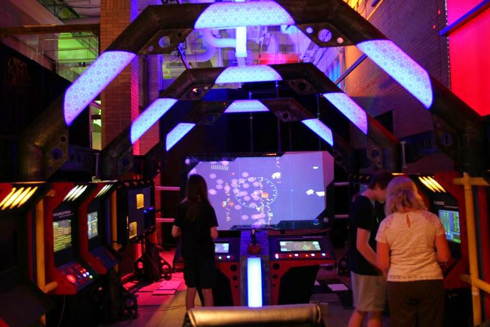 Starship Bridge Simulator At Maker Faire Kansas City